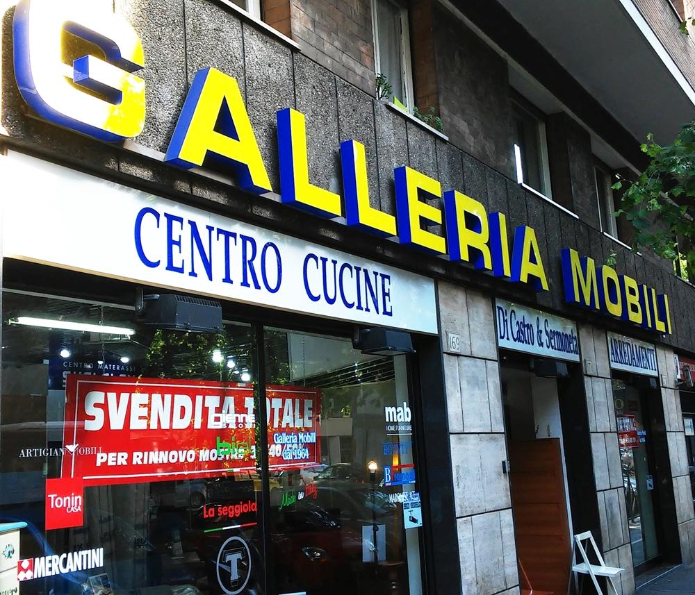DI CASTRO E SERMONETA MOBILI - Galleria Mobili Roma
